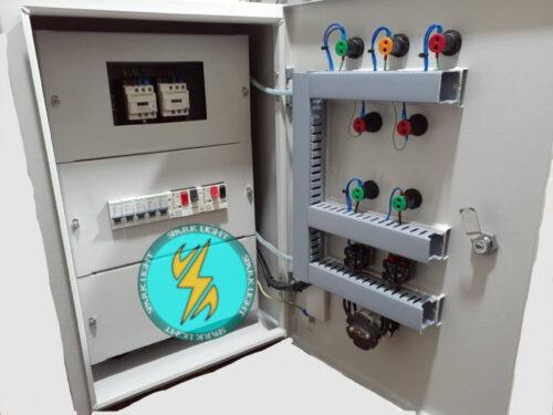 تابلو تقسیم برق و راه اندازی الکترو موتور