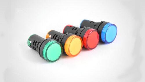 رنگ های چراغ سیگنال