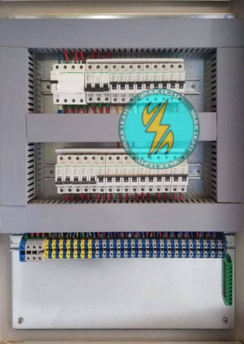 تابلو تقسیم برق کارخانه 40 آمپری